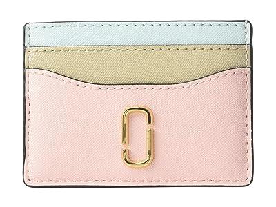 Marc Jacobs Snapshot Card Case (Blush Multi) Credit card Wallet
