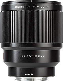VILTROX AF 85mm F1.8 II Prime Obiettivo Messa a Fuoco Auto Lente Ritratto per Fuji X-Mount X-T3 X-T2 X-T1 X-H1 X-T30 X-T20...