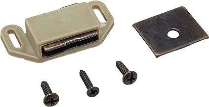 Amerock 144 Magnetic Catch - Brass/Wood Grain