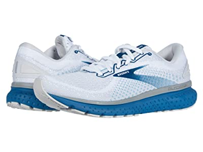 Brooks Glycerin 18 (White/Grey/Poseidon) Men