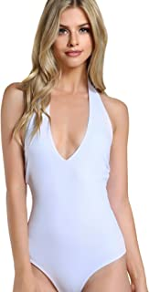Best plus size deep v neck bodysuit Reviews