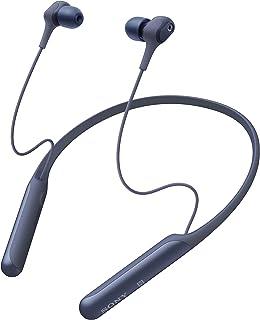 Sony WI-C600N Wireless Noise Cancelling In-Ear Headphones, Moonlit Blue