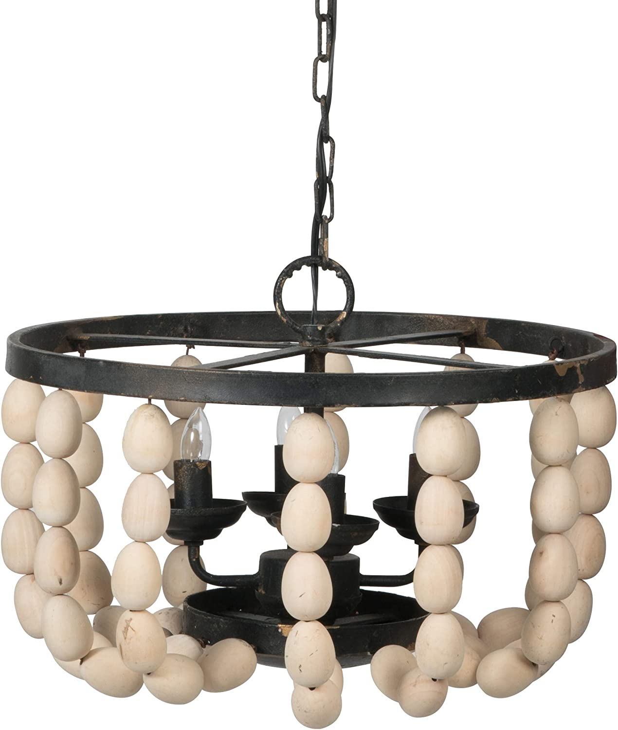 AB Home Small Beaded 4-Light 18 Baltimore Mall Dimensions: 18.9L Chandelier x specialty shop