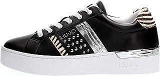 LIU JO Scarpa Donna Nero BA1023 EX014 D SILVIA23 Borchie+Cavallino Moda