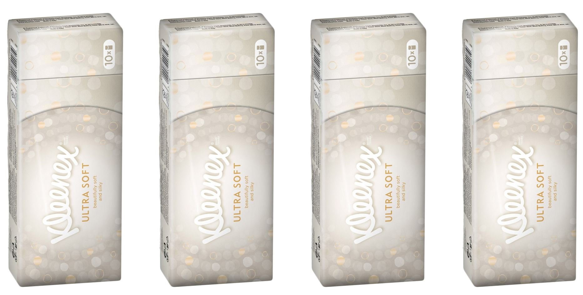 Kleenex Pocket Tissues Ultra Soft and Silky 40 packs of 9 Tissues