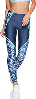 Under Armour HG Armour Legging Edgelit Print7 Legging for Women, Multi Color - XL