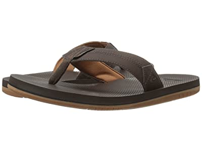 Quiksilver Coastal Oasis II (Brown/Brown/Brown) Men