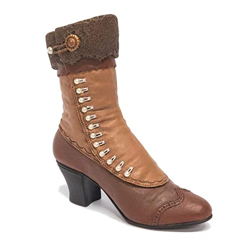 Just the Right Shoe Collectible Shoe High Button Boot by Raines