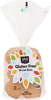 365 by Whole Foods Market, Dinner Rolls, Gluten Free (6 Rolls), 7.7 Ounce