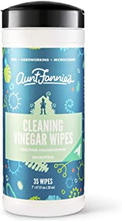 Sponsored Ad - Aunt Fannie`s Vinegar Cleaning Wipes, 35 Count (Eucalyptus, Single Pack)