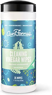 Aunt Fannie's Cleaning Vinegar 35 Count Wipes (Single Pack) (Eucalyptus)
