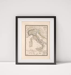 Best map of italy 1850 Reviews