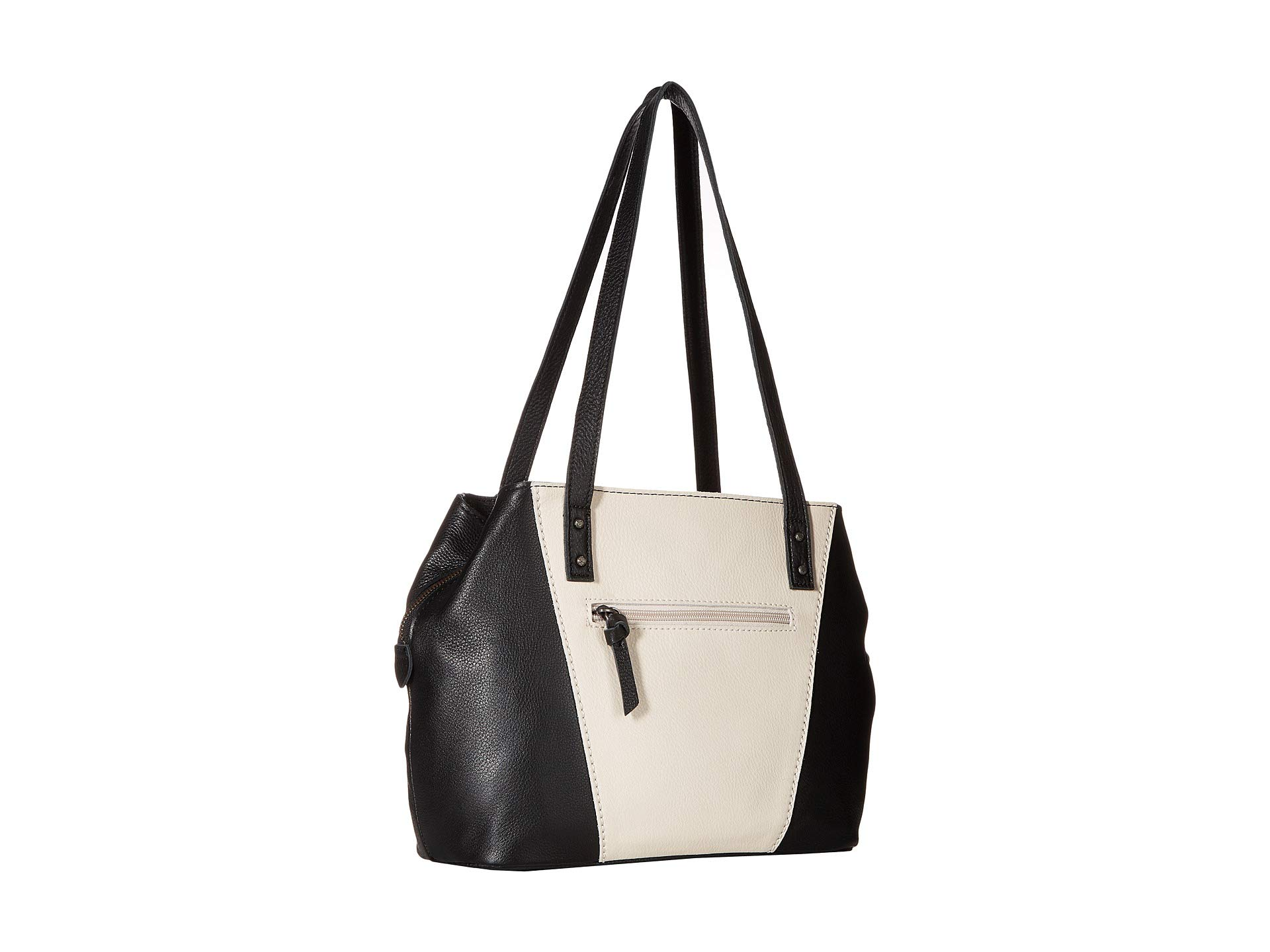 Paramount Black Satchel white Block Sak The 0qzwgg