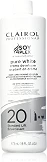 Clairol Pure White 20 Creme Developer Standard Lift 16oz