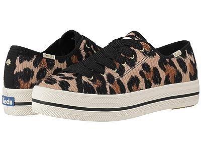 Keds x kate spade new york Triple Kick Corduroy (Leopard) Women