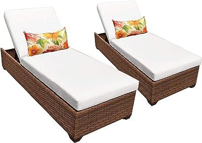 Amazon.com: TKC Fairmont & Main – Juego de 3 piezas de patio ...