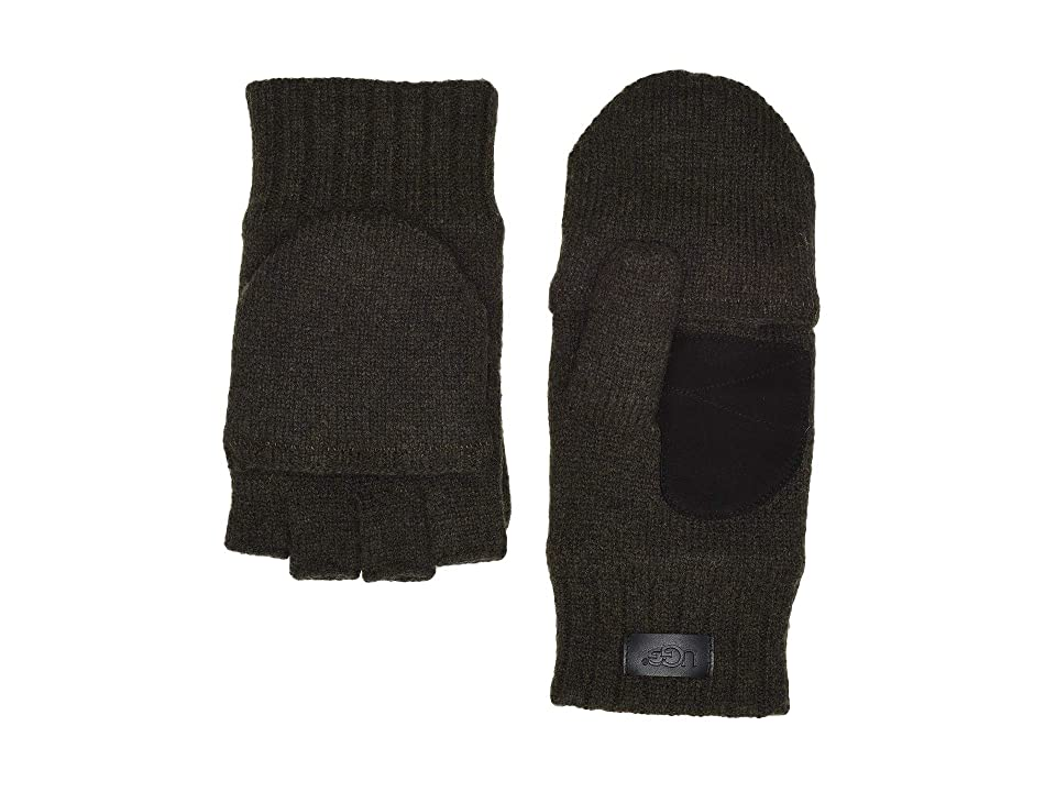 UGG Flip Knit Mitten (Spruce) Over-Mits Gloves