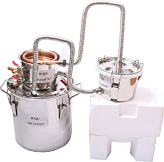 3 Pots DIY 5 Gal 20 Litres Copper Alcohol Moonshine Ethanol Still Spirits Boiler Water Brandy Distiller