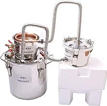 3 Pots DIY 2 Gal 10 Litres Copper Alcohol Moonshine Ethanol Still Spirits Boiler Water Whisky Distiller