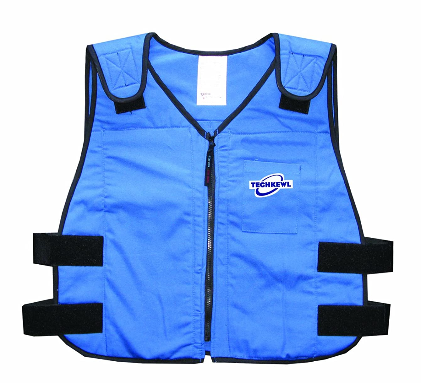 TechKewl 6626-RB-L/XL Phase Change Cooling Vest, Blue