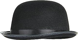 GEMVIE ボーラーハット メンズ ハット フェルトハット 丸型 フォマール 紳士帽 山高帽 無地 シルクハット 帽子 ハロウィン 仮装