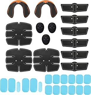 32 Piezas EMS Ultimate Muscle Stimulator Gear Training Gear Hip Trainer Set Fitness Equipment Fit Full Body