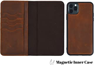 DOC ARTISAN | Artisan Wallet | Case for iPhone 11 Pro (Distressed Brown)