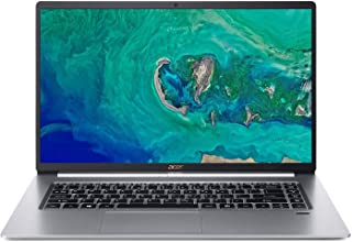 高性能Acer Swift 5 超薄型&軽量ノートパソコン 15.6インチ FHD IPS タッチディスプレイ Intel Quad-Core i7-8565U 16GB DDR4 RAM 512GB PCIe SSD バックライトキーボード ...
