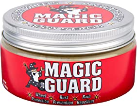 Magic Guard – Best Wheel Wax – Sealant & Protection for All Wheels – Easy Removal of Brake Dust & Road Grime - Hydrophobic – Acid, Corrosion & Moisture Resistant – Patented Multi-Use – 8 oz
