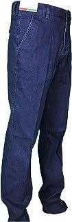 Mastino - Jeans Uomo Invernale Imbottito Classico Elegante Caldo Foderato in Pile Pantalone 46-60 Tasca America Tasca Dritta