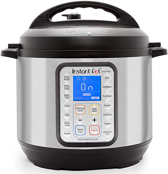 Instant Pot 60 DUO Plus 6 Qt 9-in-1 Multi-Use Programmable Pressure