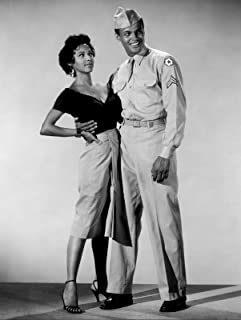 Photo Dorothy Dandridge and Harry Belafonte 8 x 10 Glossy Picture Image #1