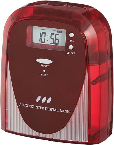 cómodo Digital Digital Digital coin pit Clear rojo (japan import)  la red entera más baja