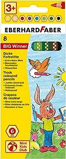 Eberhard Faber 518708 - kredki Big Winner 8 szt, etui kartonowe
