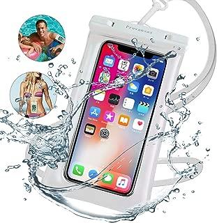 強化版 携帯防水ケース スマホ防水ケース タッチ可【指紋・顔認証】IPX8防水防塵 水中撮影・通話可TPU超耐用材料海・登山・プール・温泉・潜水お風呂など対応可 iPhone&Android全機種対応