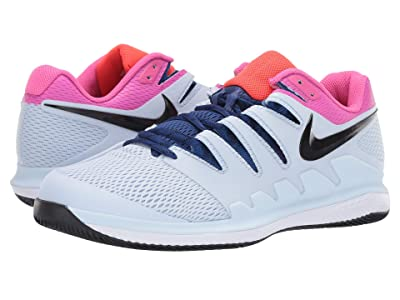 Nike Air Zoom Vapor X (Half Blue/Black/White/Laser Fuchsia) Men