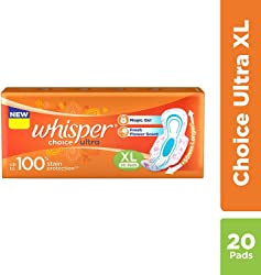 Whisper Choice Ultra Wings - 20 Pads (Extra Large)