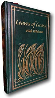 Rare Leaves Of Grass by Walt Whitman Brand New Leather Bound Hardback Gift Edition