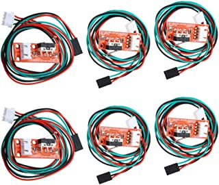 (Pack of 6 pcs) Mechanical Endstop Switch with 3 Pin 70cm Cable for 3D Printer Makerbot Prusa Mendel RepRap CNC Arduino Mega 2560 RAMPS 1.4 Control Board Part Switch
