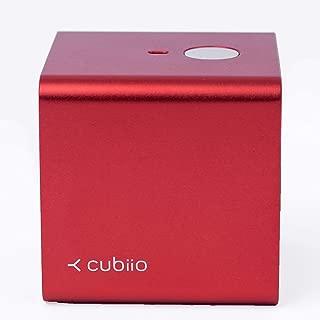 Cubiio|携帯型レーザー彫刻機 (赤) 個人的な刻印実現 クーキー形彫刻、コーヒーラテアートでも使い!