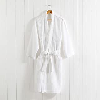 MINERVA 6つ星ホテル仕様 バスローブ ワッフル地 箱入り ヘチマ襟 レディーズ メンズ ルームウェア 100% Virgin Cotton