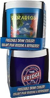 The Fridge Freezer and Fridge Paradise Freezable Drink Can Cooler Combo Pack