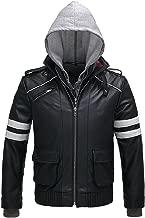 FashionAve London Men's Faux Leather Alex Mercer Jacket