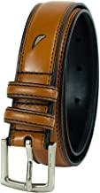 Nautica Big Boys Double Loop Belt with Stitch Detail