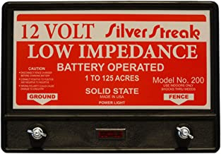 silver streak fence charger