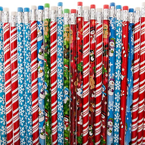 "7.5""HOLIDAY PENCIL ASSORTMENT"