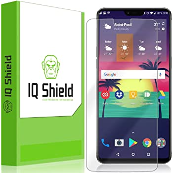 IQ Shield Screen Protector Compatible with OnePlus 6 (Full Coverage) Anti-Bubble Clear Film