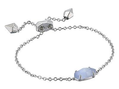 Kendra Scott Everlyne Bracelet (Rhodium/Slate Cats Eye) Bracelet