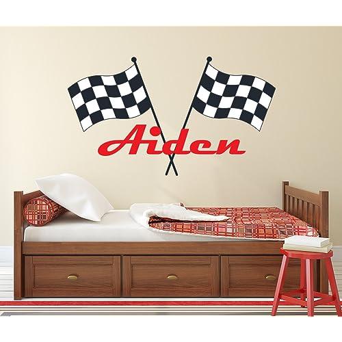 Race Car Room Decor Amazon Com