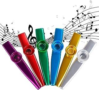 Kazoos Instrumento Musical Aleacion de Aluminio de Metal